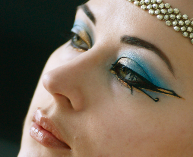 maquillage cleopatre egypte