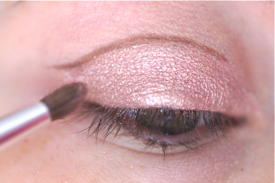 cut crease nude tutoriel