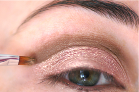 nude naked maquillage cut crease comment faire
