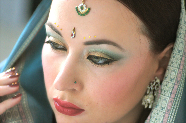 Maquillages du monde  Indien Bollywood