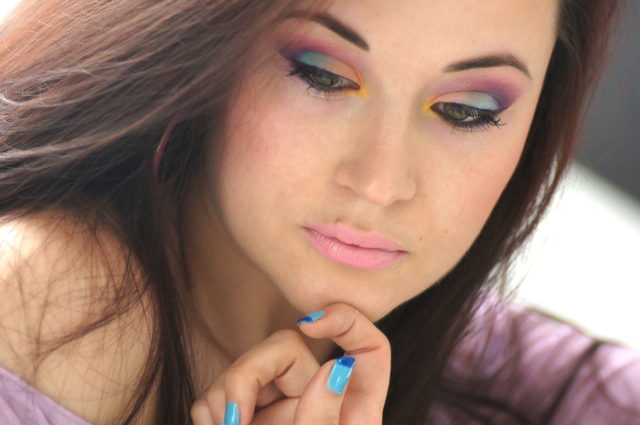 makeup multicolore