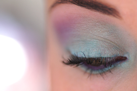 makeup yeux make up en couleurs