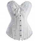 bustier blanc mariage mariee