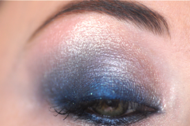 breezy blue mineral sweet doux elf e.l.f makup make up