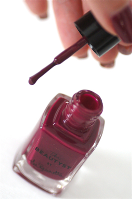 vernis bordeaux the brunette beautyst