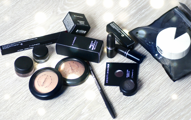 Haul mac cosmetics maquillage