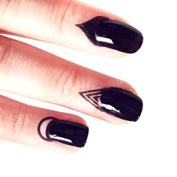 cuticle nail art patch tatouage cuticules