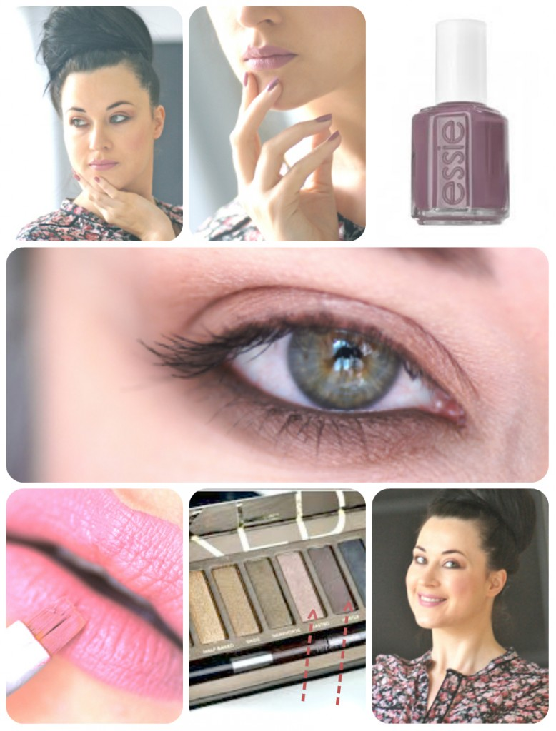 cours maquillage douceur en images smoky
