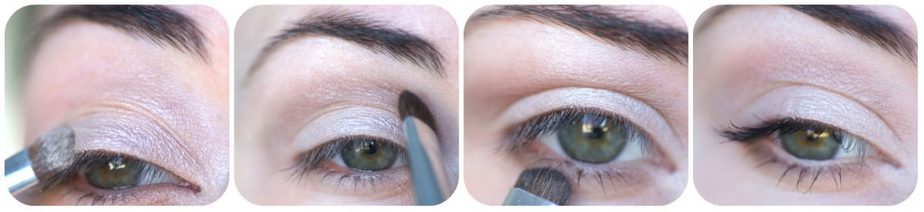 tutoriel tuto makeup yeux bio neutre nude