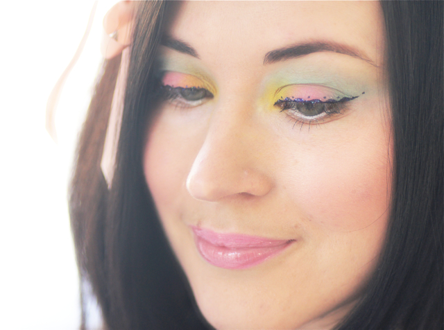 maquillage paques easter makeup