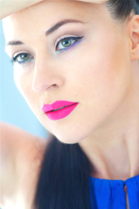 make up fluo maquillage