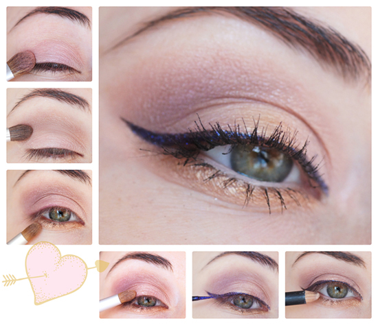 Maquillage rose yeux - Tuto maquillage yeux ...