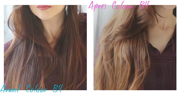 avant apres colourb4 - Coloration Blond Cendr Sur Roux