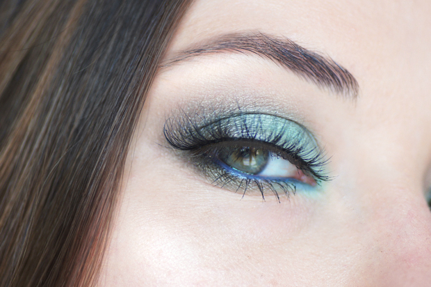 maquillage yeux couleur caramel bio