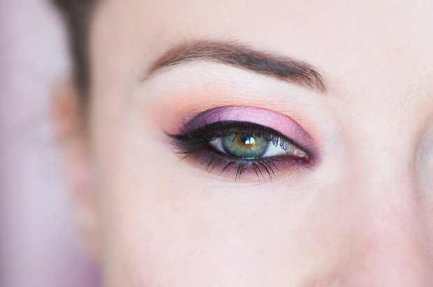 maquillage yeux rose tutoriel