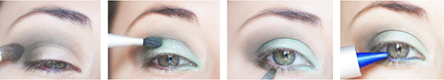 tutoriel maquillage yeux tuto makeup eyes