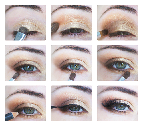 tuto makeup fall automne