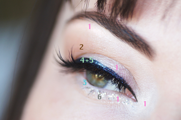tuto makeup yeux