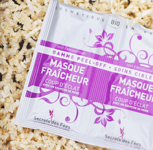 secret fees masque visage fraicheur