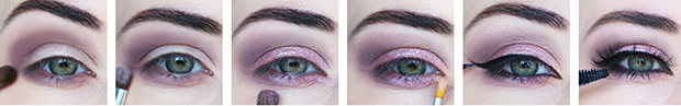 tutoriel makeup des yeux en six etapes