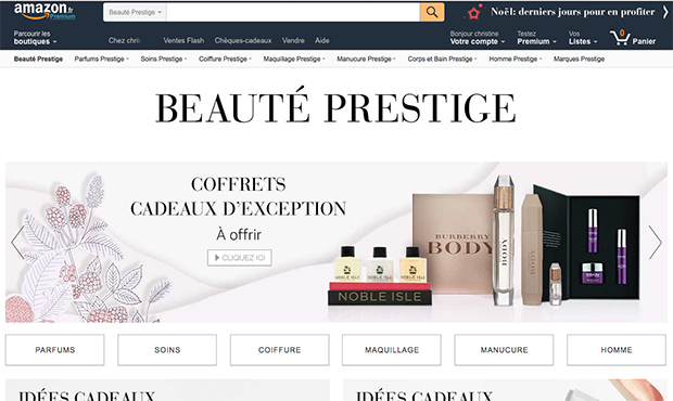 amazon beaute prestige