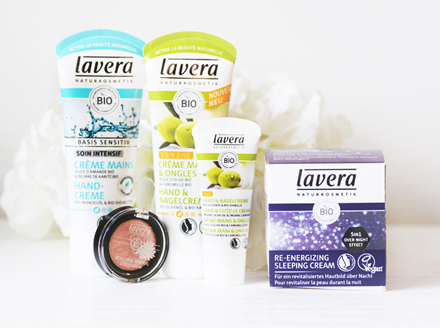 lavera sleeping cream creme ongles mains 2 en 1