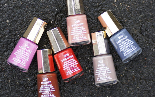 collection six vernis mavala eclectic