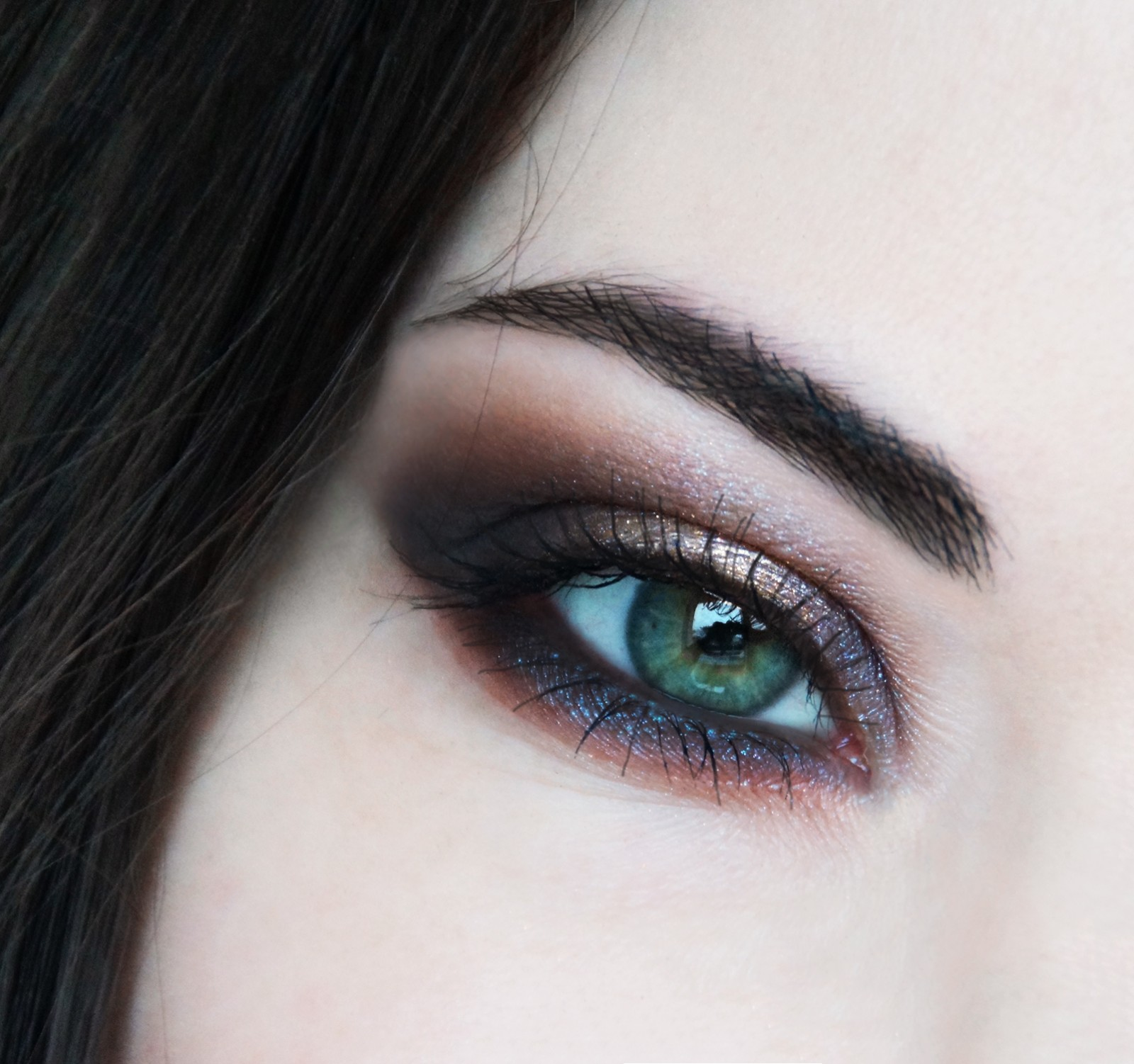 maquillage yeux noel fete