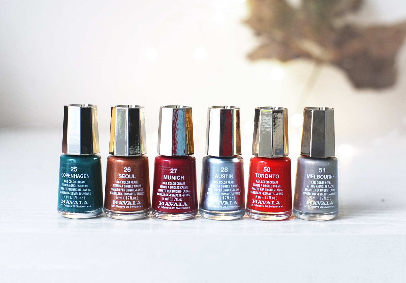 mavala vernis new look collection automne hiver