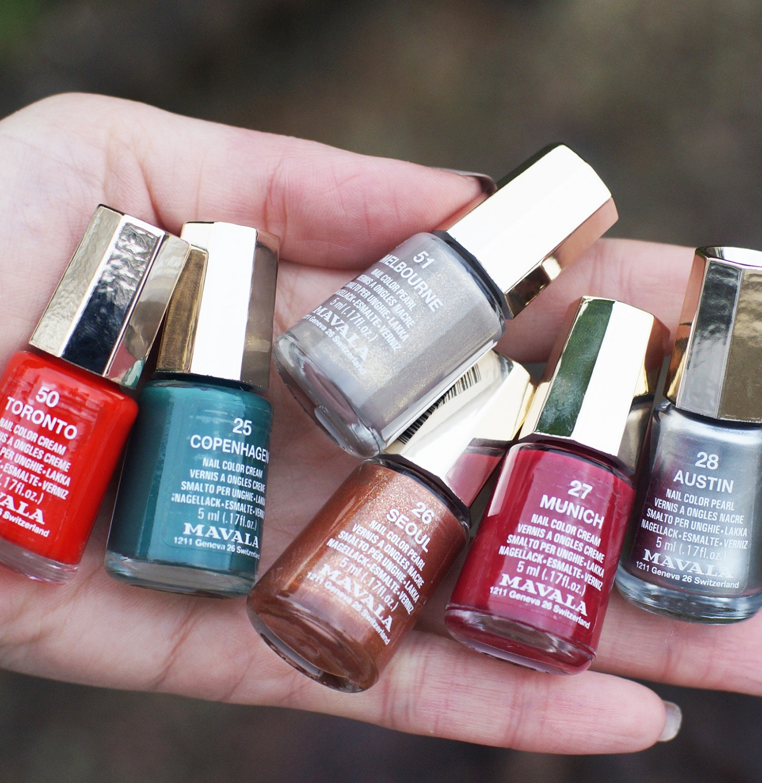 vernis ongles automne hiver